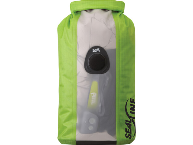 SealLine Bulkhead View Dry Bag 5l green